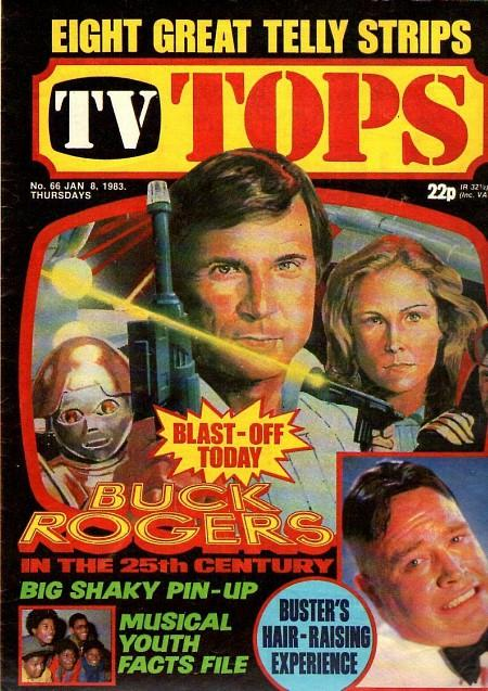TV Tops Jan 8 1983 - Buck Rogers in the 25th Century