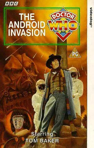 Doctor Who The Android Invasion VHS ft. Tom Baker