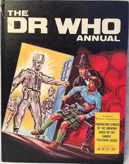 The Dr Who Annual 1969 by BBC TV ft. Patrick Troughton