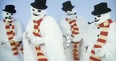 The Snowmen Hokey Cokey video screenshot