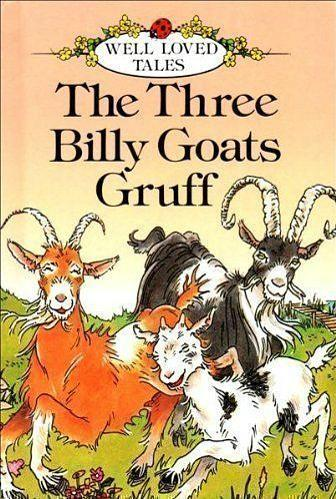 The Three Billy Goats Gruff (1987) Ladybird Well Loved Tales book