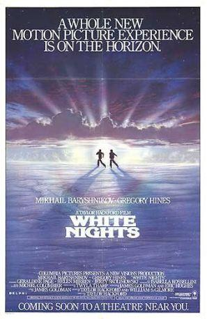 White Nights (1985) movie poster