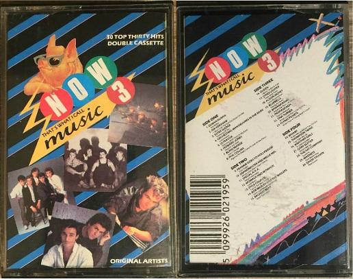 Now That's What I Call Music 3 double cassette album