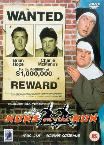 Nuns On The Run DVD