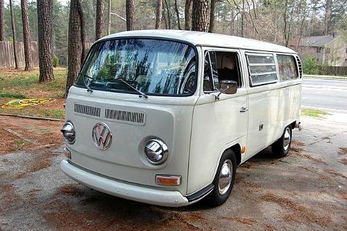 1968 Volkswagen Type 2 T2 Hard Top Westfalia