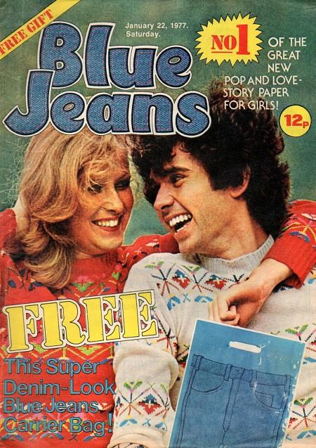 Blue Jeans magazine first ever issue - Jan 22 1977