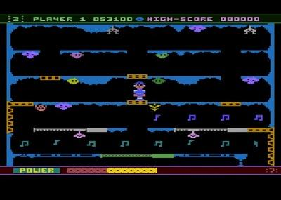 Jet Boot Jack Atari 8 Bit screenshot