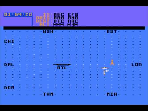 Kennedy Approach Atari 800XL screenshot