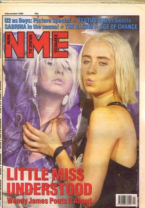 NME Nov 4 1989 ft. Wendy James