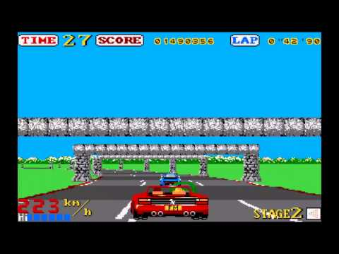 OutRun Stage 2 on the Atari ST