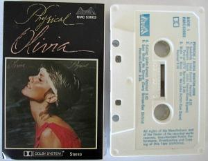 Physical (cassette album) by Olivia Newton John
