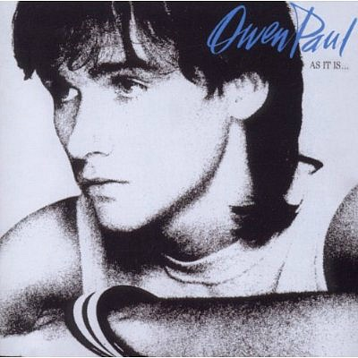 Owen Paul - As It is - album sleeve