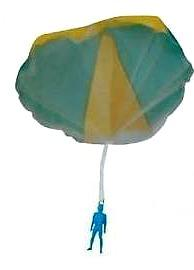 Parachute Jumper - Sky Siver Toy