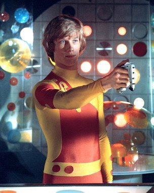 Peter Duncan in Space 1999