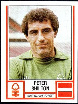 Peter Shilton Nottigham Forest Panini Sticker from 1981