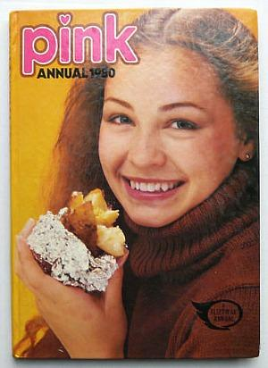 Pink Annual for girls 1980 by Fleetway