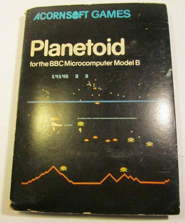Planetoid (Defender Clone) by Acornsoft for the BBC Model B
