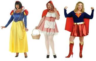 XL, XXL Plus Size Fancy Dress Costumes for Women at SimplyEighties.com