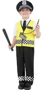 Police Boy Costume Kit