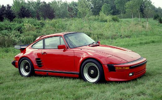 1980s Porsche 911 Turbo with modified slant nose