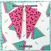 80s Triangle Earrings