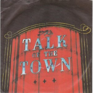 Pretenders - The Talk Of The Town vinyl 7 inch sleeve