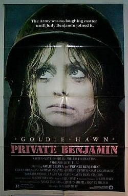 Private Benjamin 1980 movie poster ft. Goldie Hawn