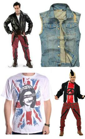 mens goth and punk clothing ideas at simplyeightiescom