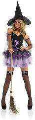 Purple Tutu Witch Costume