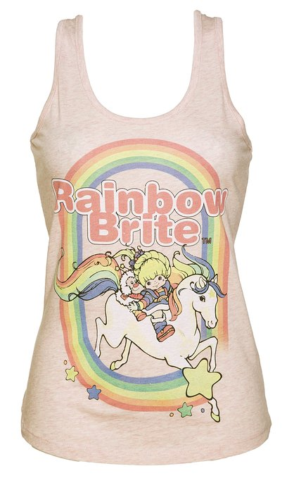 Rainbow Brite 80s Tank Top for Women