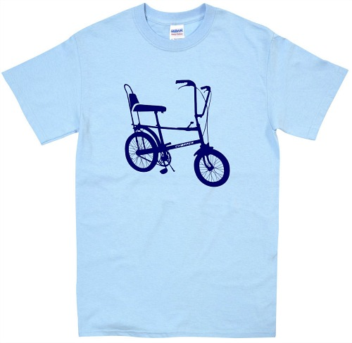 Raleigh Chopper light blue tee for men