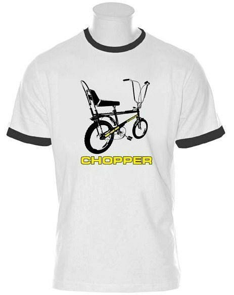 Raleigh Chopper 70s Ringer T-shirt