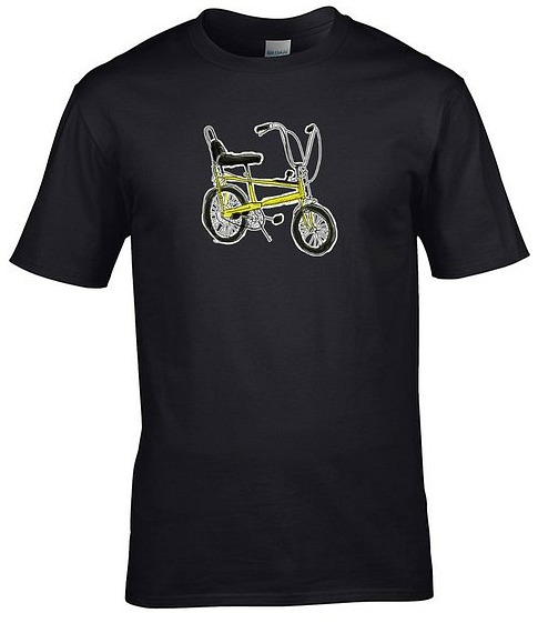 Raleigh Chopper T-shirt - Black Men's