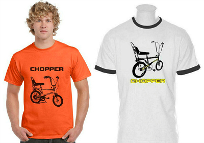 Raleigh Chopper T-shirts at SimplyEighties com