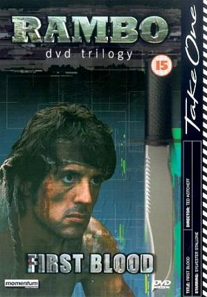 Rambo First Blood - DVD trilogy