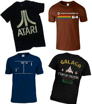 6bc5ba61d10 Retro 80s Gaming - Gamer T-shirts at Simplyeighties.com