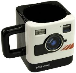 Retro Polaroid Camera Mug
