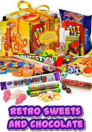 Retro Sweets and Chocolate Bars