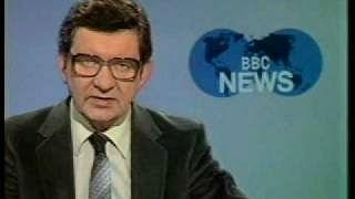 Richard Baker BBC News April 1981