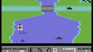 River Raid c64 screenshot