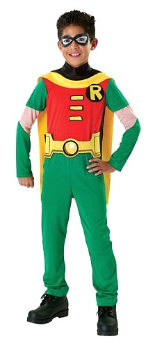 Kids/Boys Classic Robin Costume