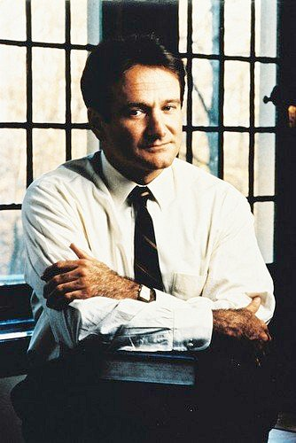 Robin Williams in the 1989 film Dead Poets Society