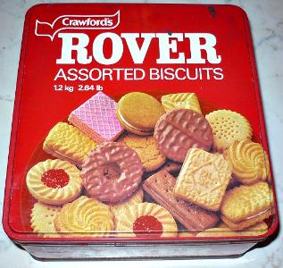 Crawford's Rover Biscuits - 1980s