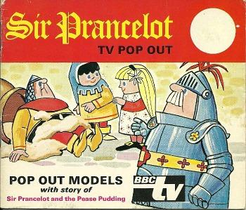Sir Prancelot TV Pop Out Book (1972)
