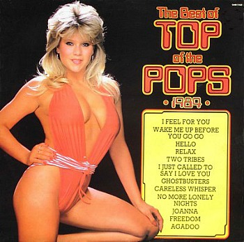 Top Of The Pops LP 1984 ft. Sam Fox on the cover