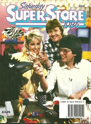 Saturday Superstore paperback book from 1986