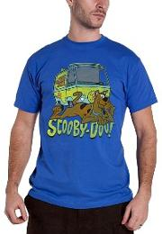 Scooby Doo Mystery Machine T-shirt for men
