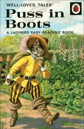 Puss in Boots Ladybird book from the 606d Well-Loved Tales series