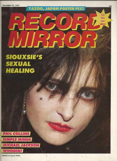 Record Mirror Dec 18 1982 ft. Siouxsie Sioux