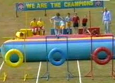 We Are The Champions Kids BBC TV Show 1984